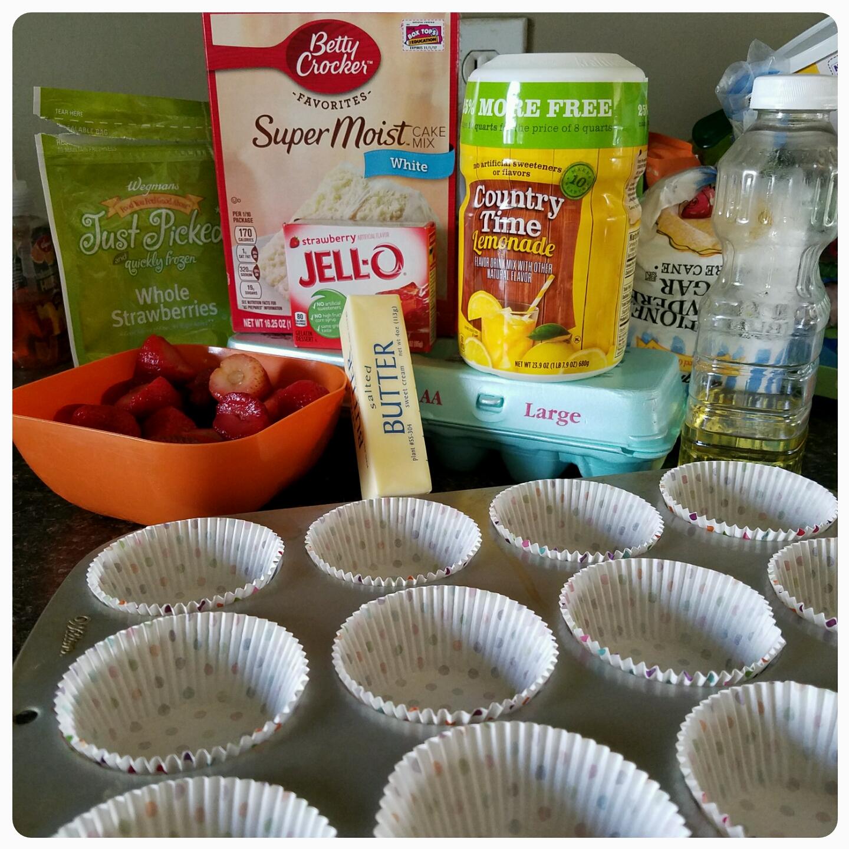 Strawberry Lemonade Cupcakes The Perfect Summer Birthday